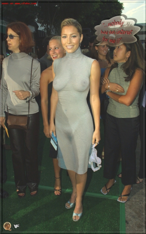 Jessica Biel X-Ray See Through images