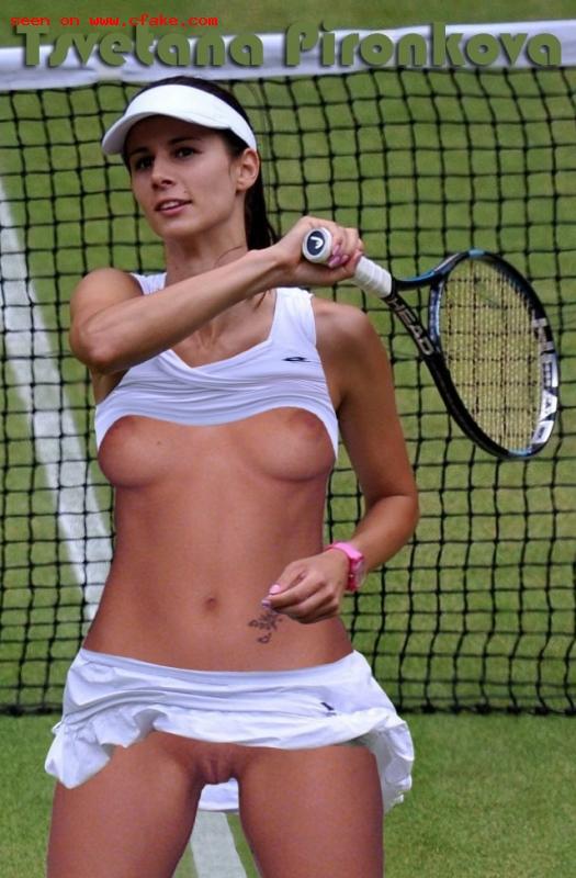 Nackt Tsvetana Pironkova  US Open
