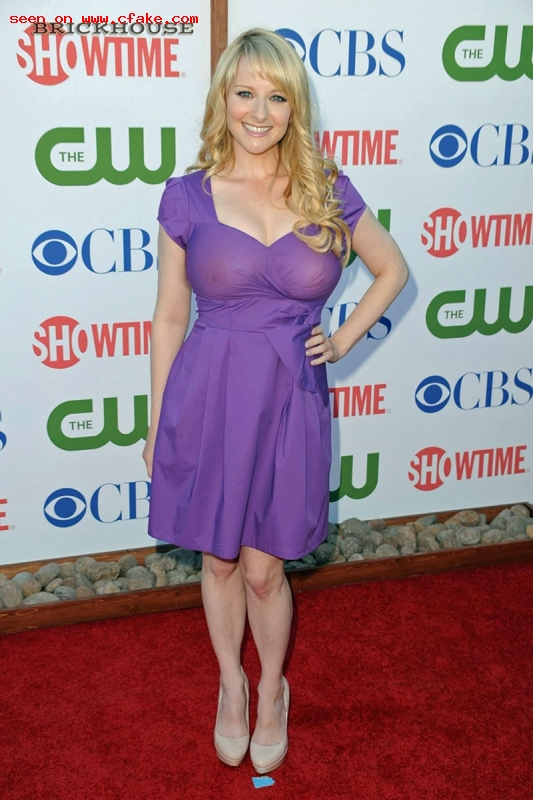 Melissa Rauch X-Ray See Through images