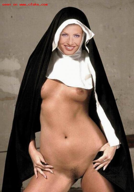 Lorella Cuccarini Nun Fake XXX images