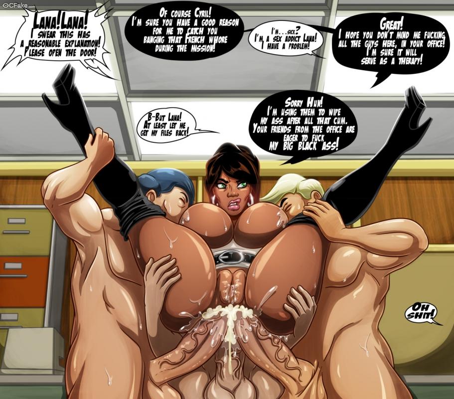 Archer Triple Anal Sex images
