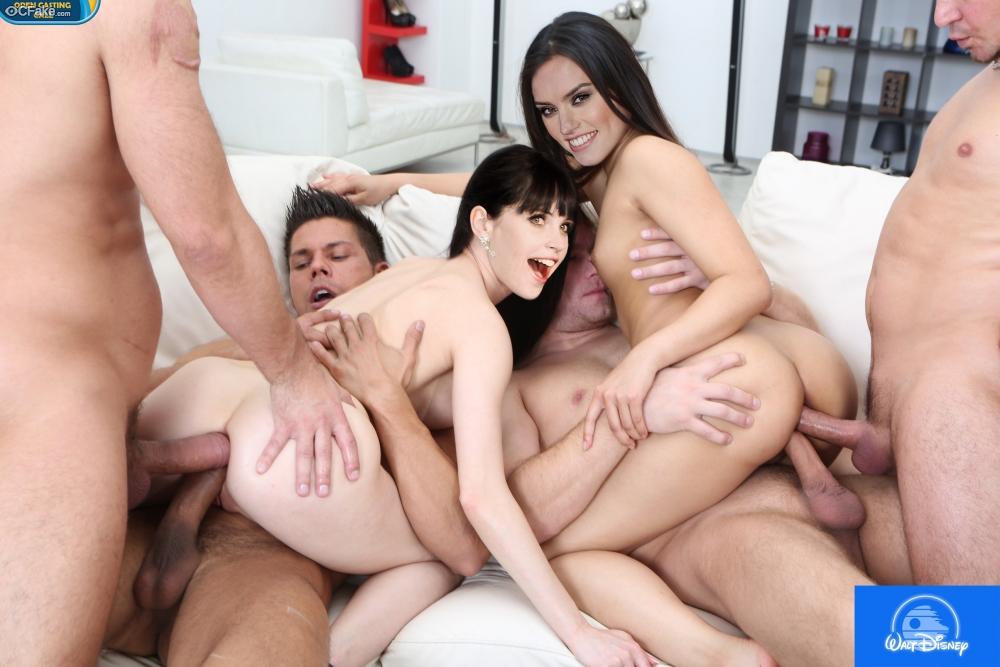 Lesbian Bi Sexual Celeb Orgy Fake XXX images