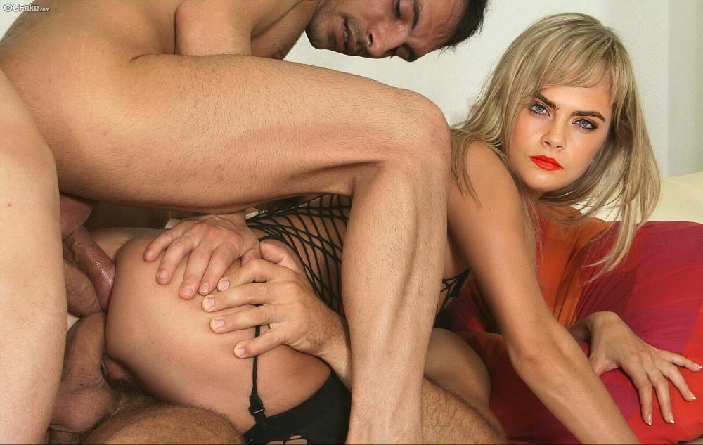 Cara Delevingne Triple Anal Sex images