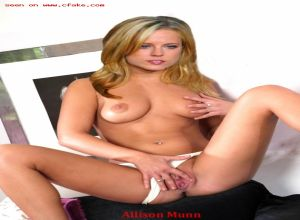 Allison munn fake nude celebs