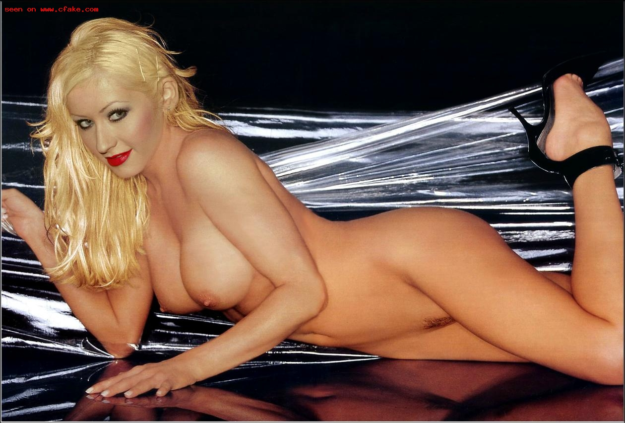 Christina aguilera boobs torture poses nude wallpaper