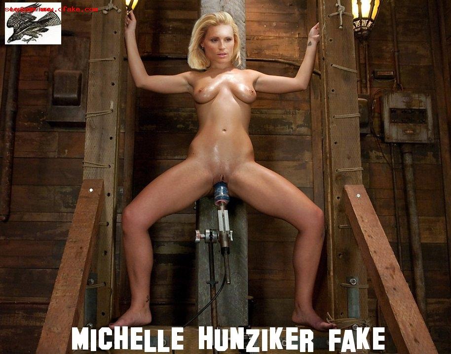 Michelle Hunziker Pussy