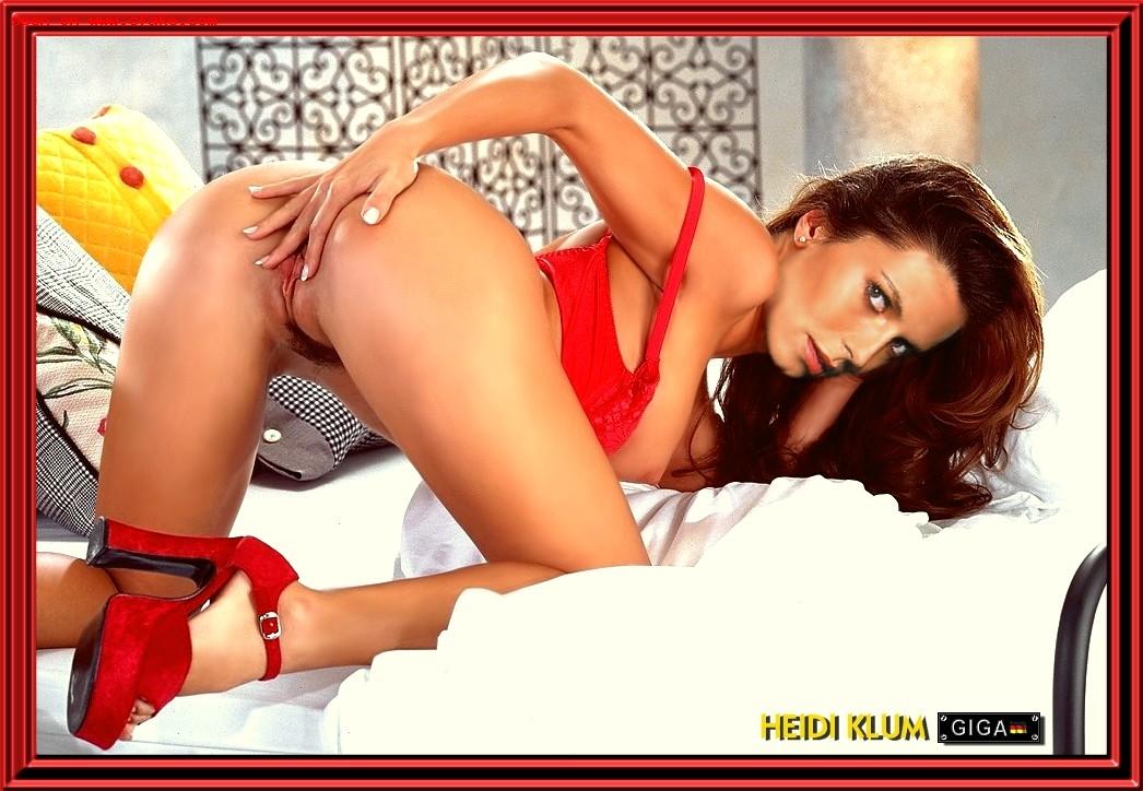 Heidi klum nude fakes