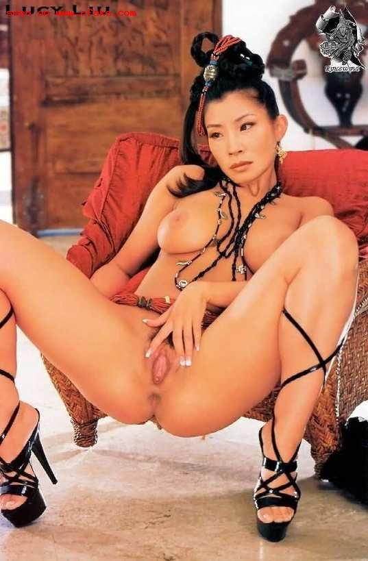 Lucy Liu Sex Tape Photo