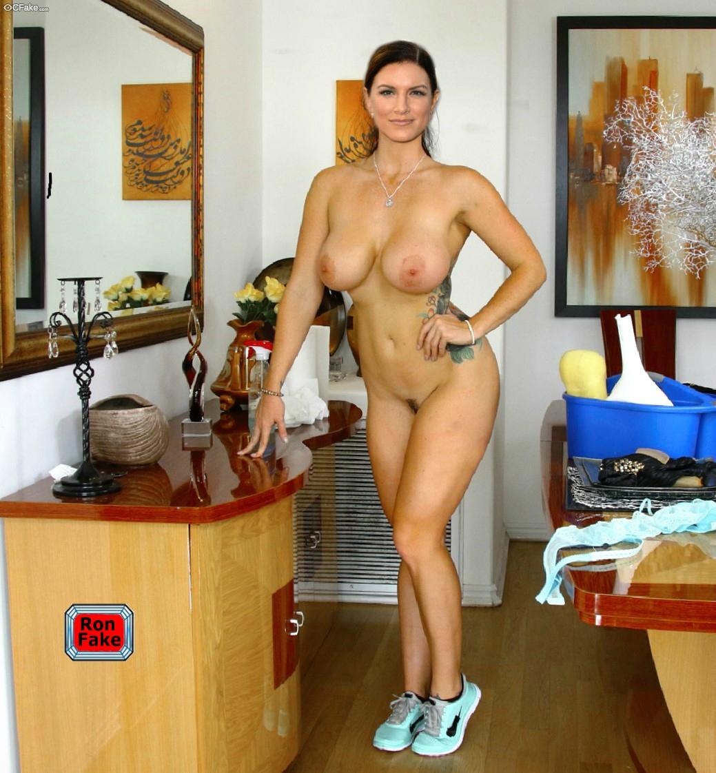 Gina Carano Nude Naked