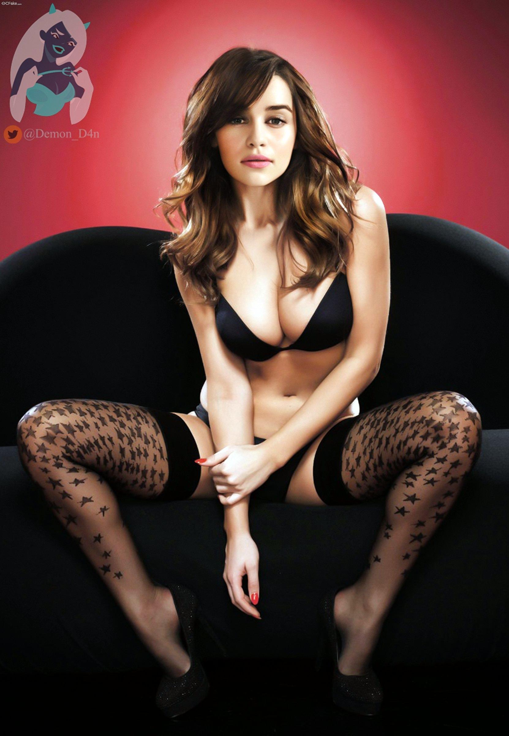 Celebrity Fakes > Show newest > Emilia Clarke   CFake.com